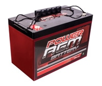 Power AGM car battery